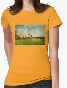 Another Day on the Farm Womens Fitted T-Shirt