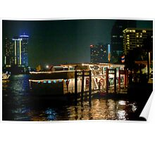 Dock Side Dinner Cruiser Poster