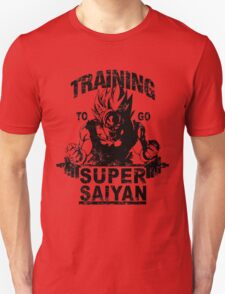 Training to go super saiyan - Vintage T-Shirt