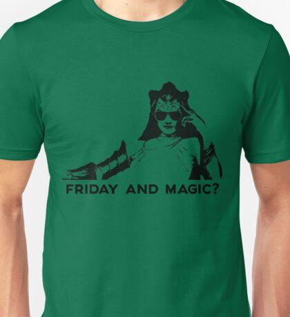 Friday and Magic? (FnM?) Unisex T-Shirt