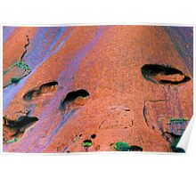 The Patina Of Uluru Poster