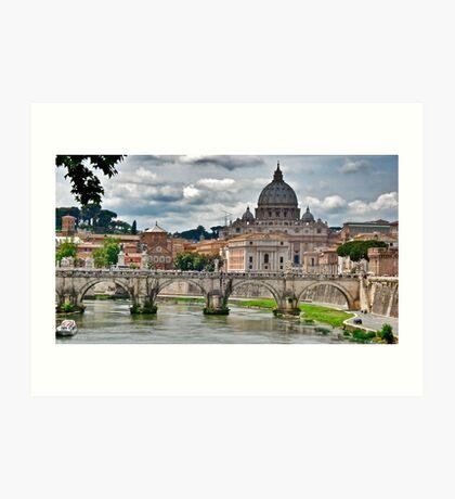 Rome.... Art Print