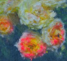 Roses. Impressionist Painting. by Vitta