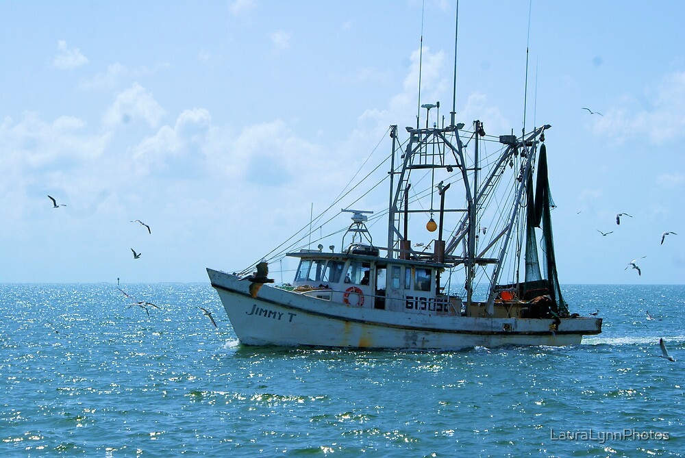 Shrimp Boat Jimmy T Rockport TX by LauraLynnPhotos