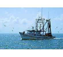 Shrimp Boat Jimmy T Rockport TX Photographic Print