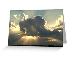 Sunset Humble TX Greeting Card