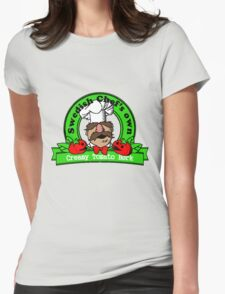 Tomato Bork Womens Fitted T-Shirt