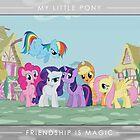 Friendship is Magic - Group Photo by Strangetalk
