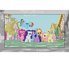 Friendship is Magic - Group Photo Photographic Print