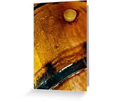 Wine Barell II Greeting Card