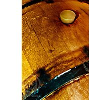 Wine Barell II Photographic Print