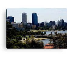 Perth City Canvas Print