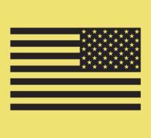 Soldier's Arm US Flag Kids Clothes