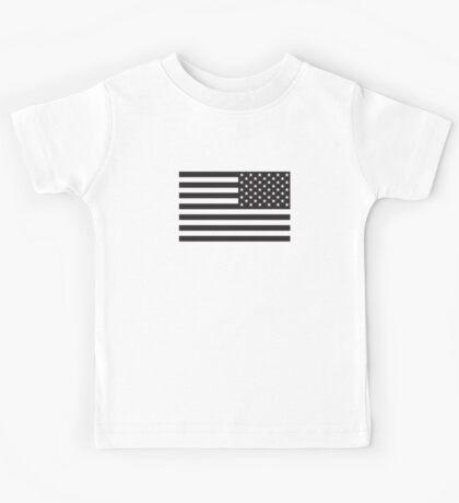 Soldier's Arm US Flag Kids Tee
