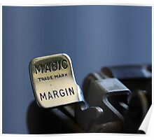 Looking for the Magic Margin Poster