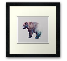 Repressed Transformation #redbubble Framed Print