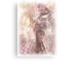 Japanese Picture. Painting. Metal Print