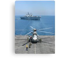 RAS WITH 820 SQUADRON Canvas Print