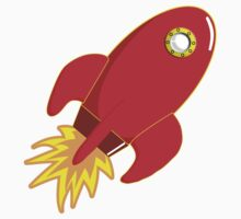 Rocket shop....blast off Kids Tee
