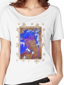 My Little Pony (Blue and Brown) Women's Relaxed Fit T-Shirt