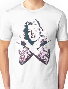 Punk Marilyn Unisex T-Shirt