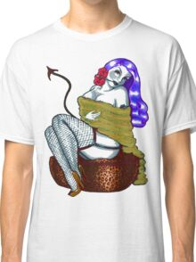 Smoking Miss Kitty Classic T-Shirt