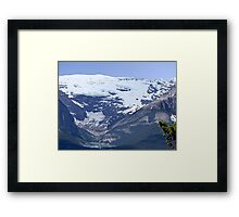 Lake Louise From Afar Framed Print