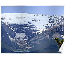 Lake Louise From Afar Poster