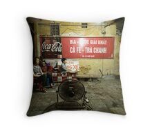 Hot 'n Bothered #0101 Throw Pillow