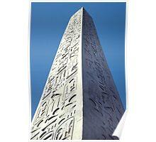 Obelisk, Luxor, Egypt  Poster