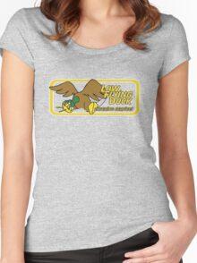 Low Flying Duck - Oosewear Women's Fitted Scoop T-Shirt