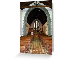 St Eunan 's Cathedral Raphoe, Donegal, Ireland Greeting Card