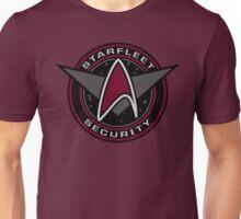 Star Trek - Starfleet Security Logo (Red Variation) Unisex T-Shirt