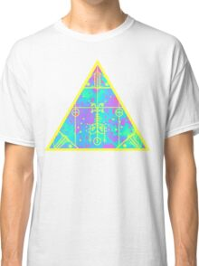 cool electric triangular space Classic T-Shirt