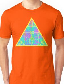 cool electric triangular space Unisex T-Shirt