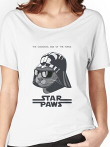 Darth Kitty - Classic grey Women's Relaxed Fit T-Shirt