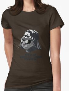 Darth Kitty - Classic grey Womens Fitted T-Shirt