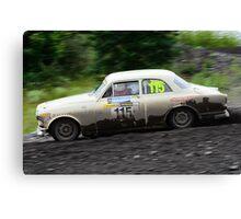 Volvo Amazon rally car Canvas Print