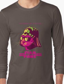 Darth Kitty - Neon Long Sleeve T-Shirt