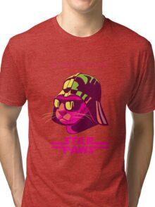 Darth Kitty - Neon Tri-blend T-Shirt