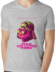 Darth Kitty - Neon Mens V-Neck T-Shirt