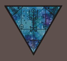 inverted space triangle by HiddenStash