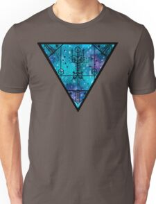 inverted space triangle Unisex T-Shirt