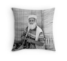 Peoplescapes from Turkey I - The Knitter Throw Pillow