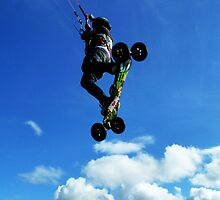 Extreme Sports - Kiteboarding by Oliver Lucas