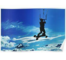 Kiteboarding - Westbury Poster