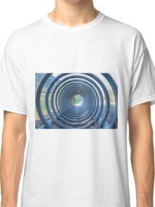 abstract landscape lake trought a rack Classic T-Shirt