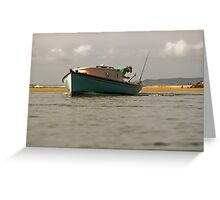 Noosa River Sunday Afternoon Greeting Card