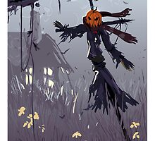 The Scarecrow by Roshan k
