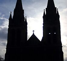 St. Peters Silhouette by Cherie Vivar
